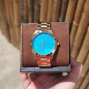 Michael Kors Blue face watch